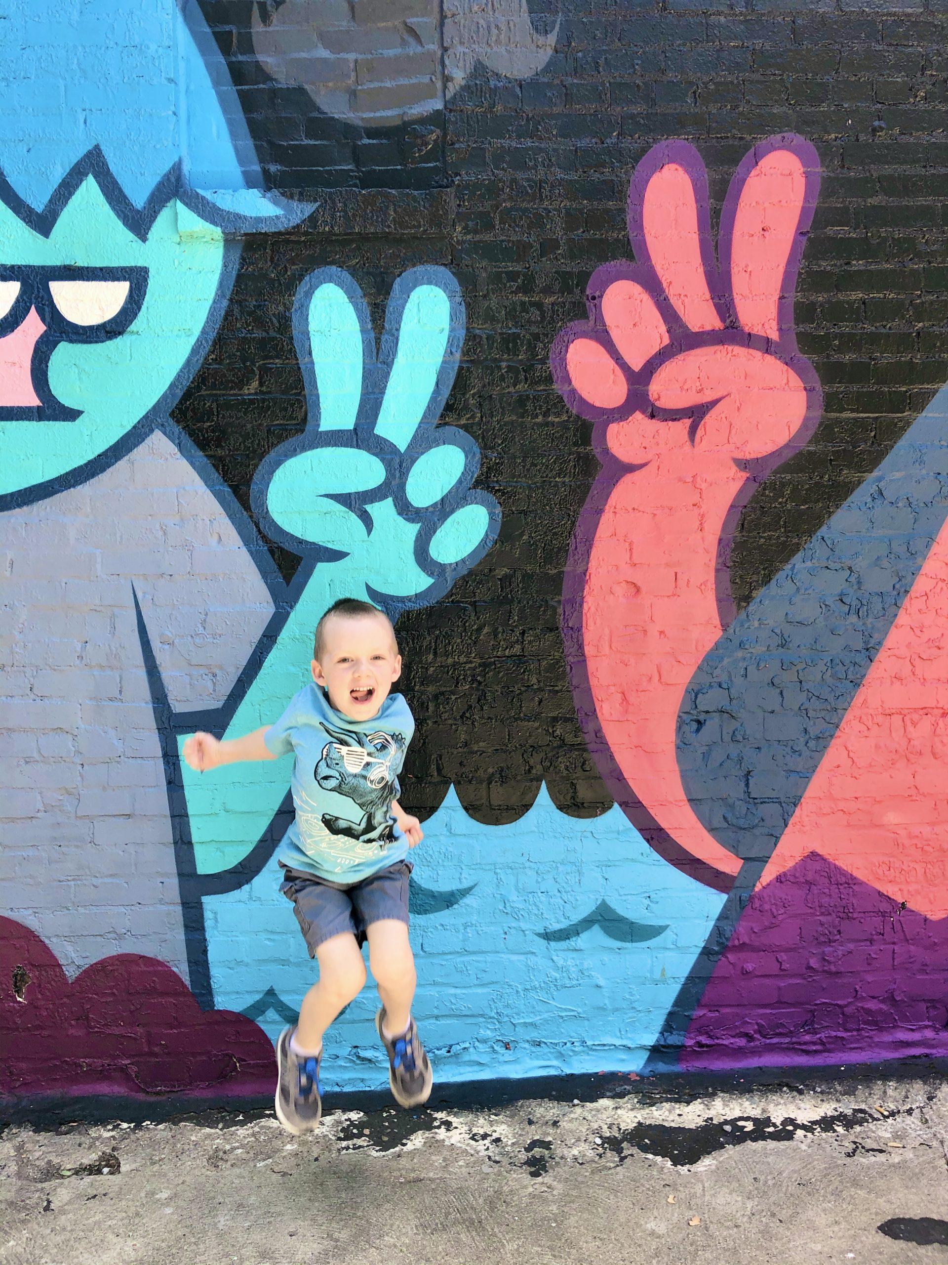 Murals at Plaza Walls in OKC