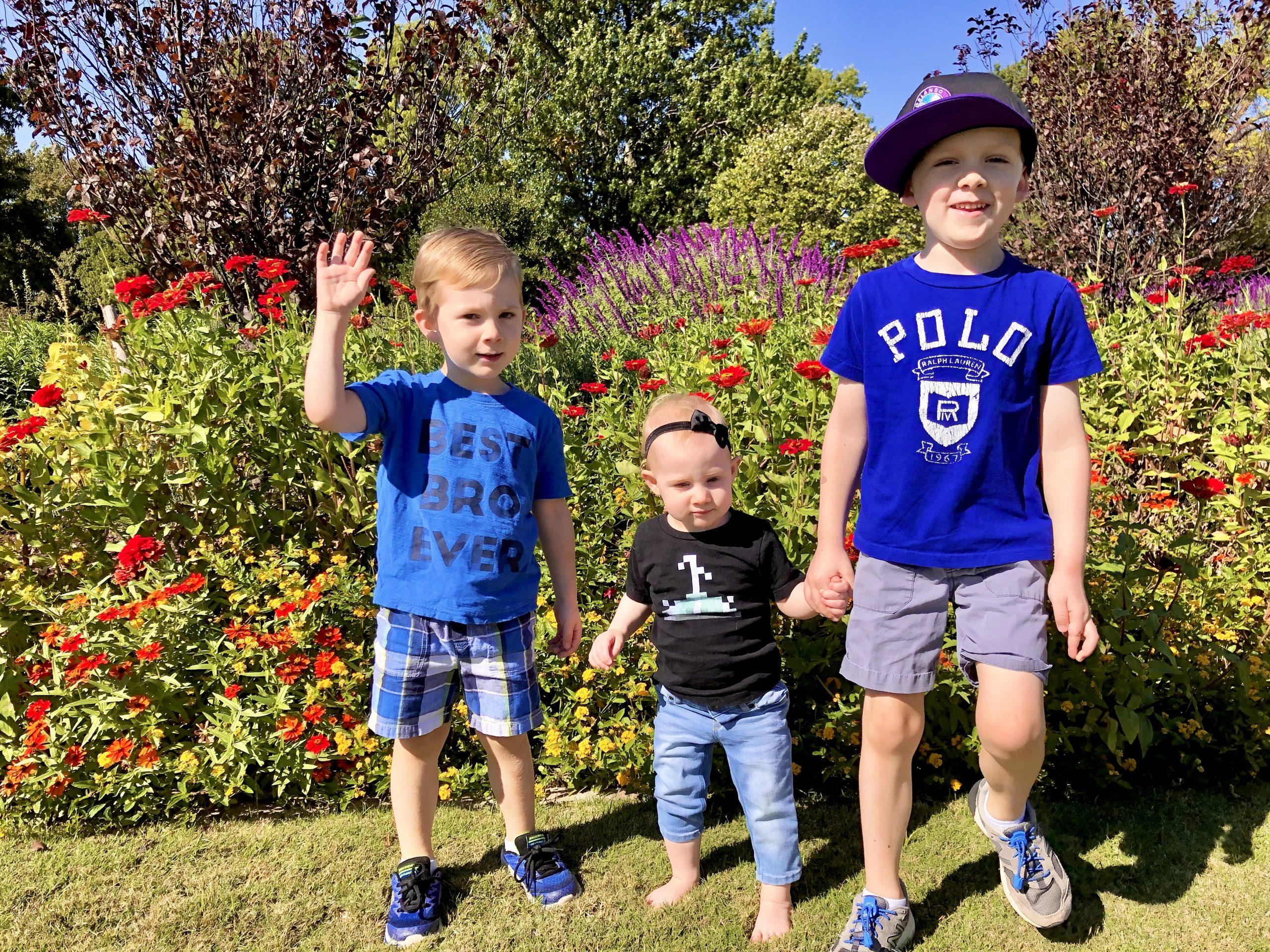 Best Family Photo Locations Around OKC - Will Rogers Gardens
