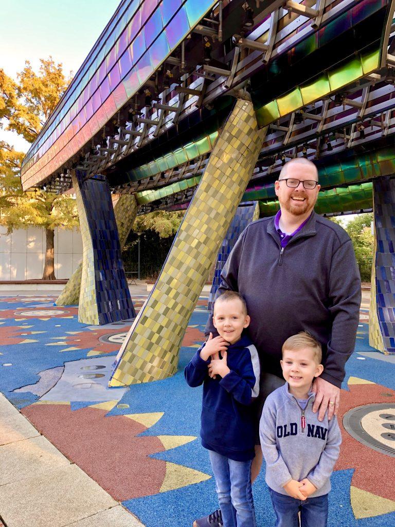 Best Family Photo Locations Around OKC - Myriad Gardens